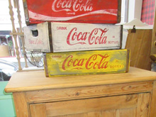 Coca Cola crates, £24 each