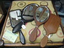 A variety of hand mirrors
