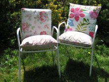 Cushions for garden chairs